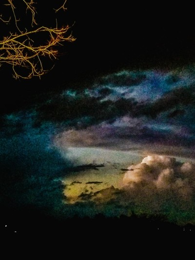 A Late Evening Storm Roars In