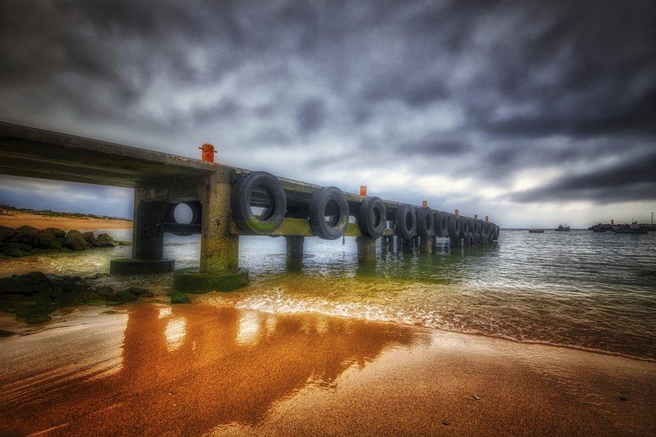 Dramatic Pier