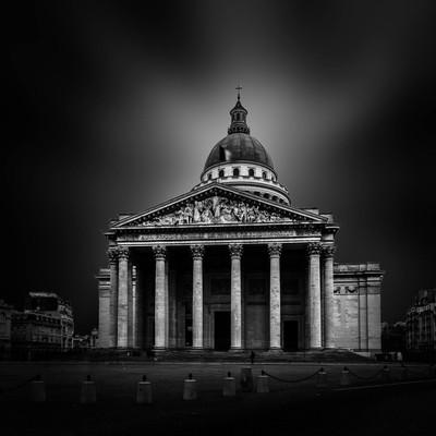 The Panthéon at Paris in B/W