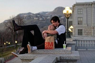 A romantic McDonalds dinner.