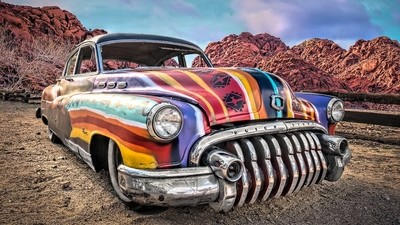 Car of Many Colors