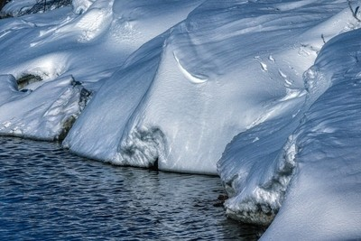 Winter Riverbank