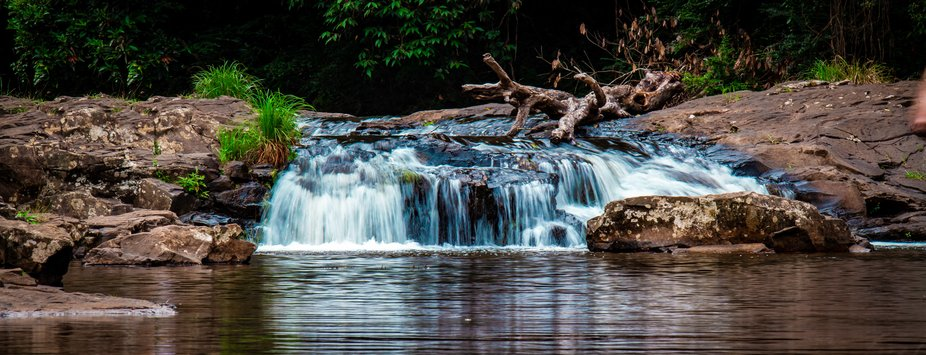 small falls in the sunshine coast in Queensland