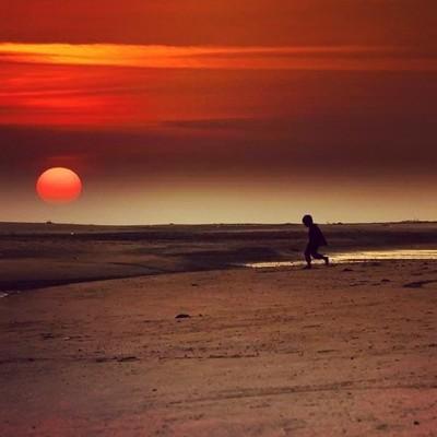 A Sunset in the land of Mahatama, Mandavi Gujarat