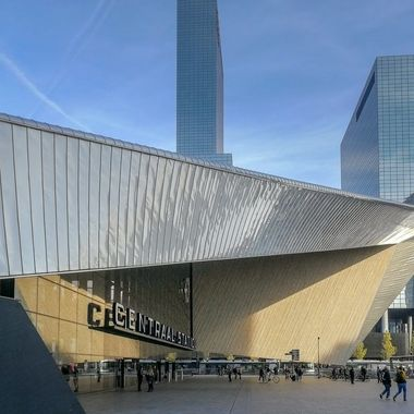 Central station Rotterdam, Holland