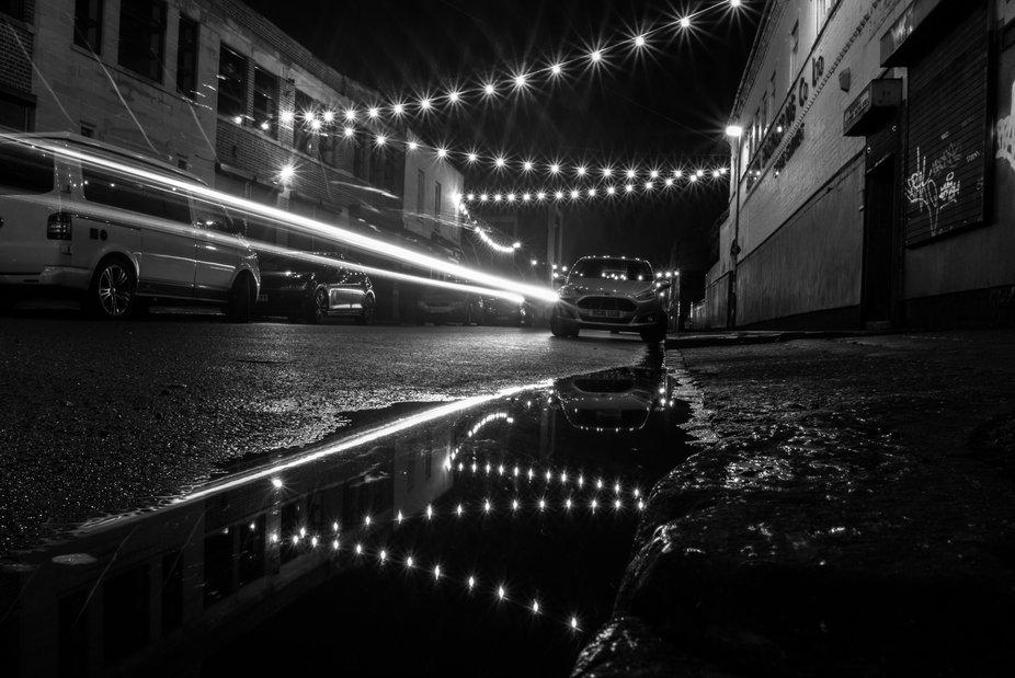 A Long Exposure shot of Floodgate St in Digbeth Birmingham