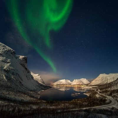 Bergsbotn aurora