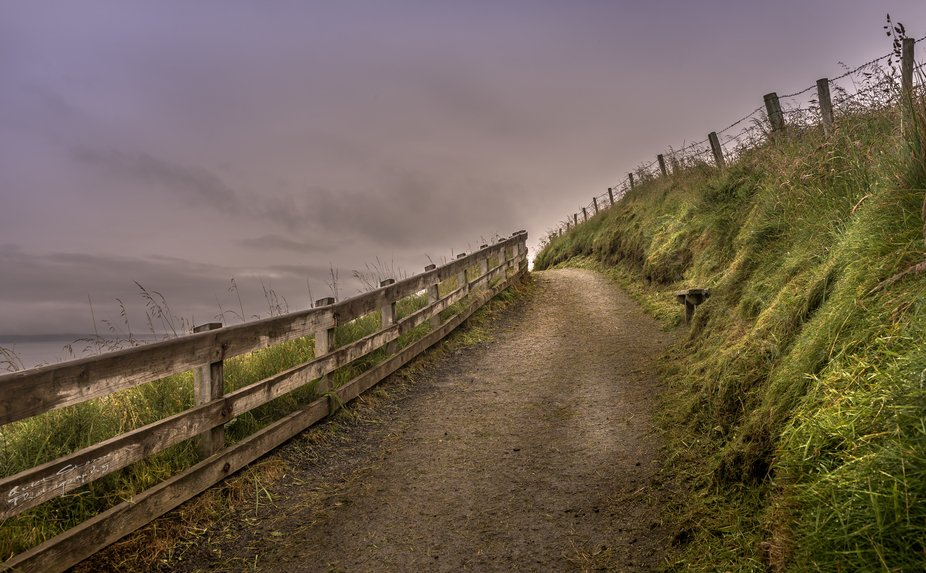 While in Northern Ireland I stopped at the Giant Causeway it was raining but as I got to the midd...