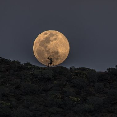 Full moon on March 20,2019
