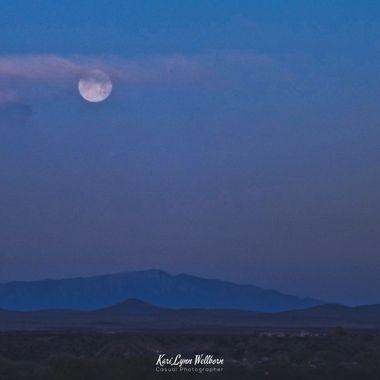 Full Moon emerging