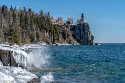 Sunny day at Split Rock Lighthouse