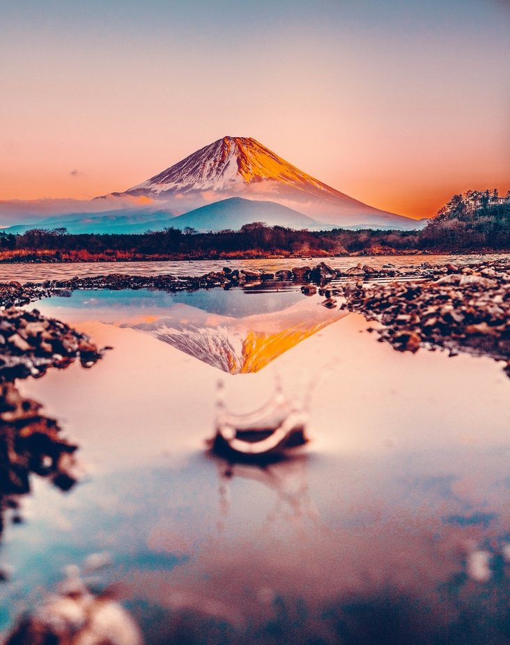 Mount Fuji by raviphotographer - The Magic Of Japan Photo Contest