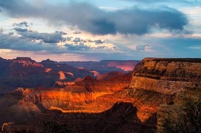 Grand Canyon Sunset 2015