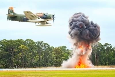 Douglas A-1 Skyraider Attack!