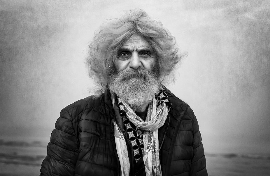 I met this gentleman during one of my walks on the deserted beach during the winter. While he was...