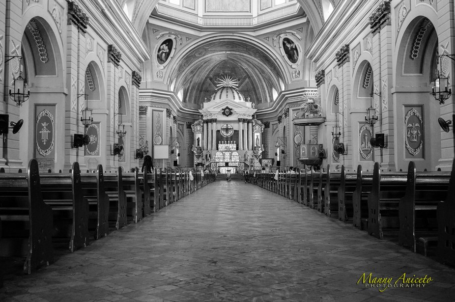 The Basilica of St. Martin de Tours, simply known as Taal Basilica, is Asia's largest church th...