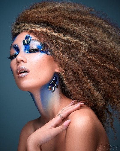 Creative Beauty Editorial with Aurora