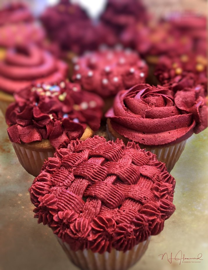 Cupcake Decadence by nlhammondphotography - Colorful Macro Photo Contest