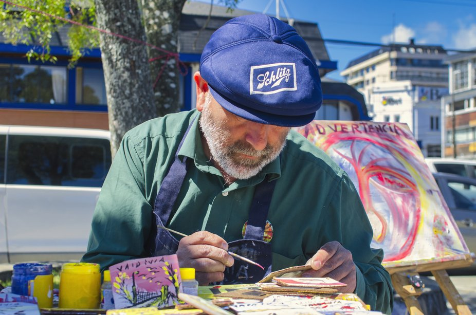 Artista local de la ciudad de Valdivia.