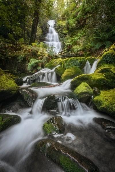 Bastion Creek Cascades