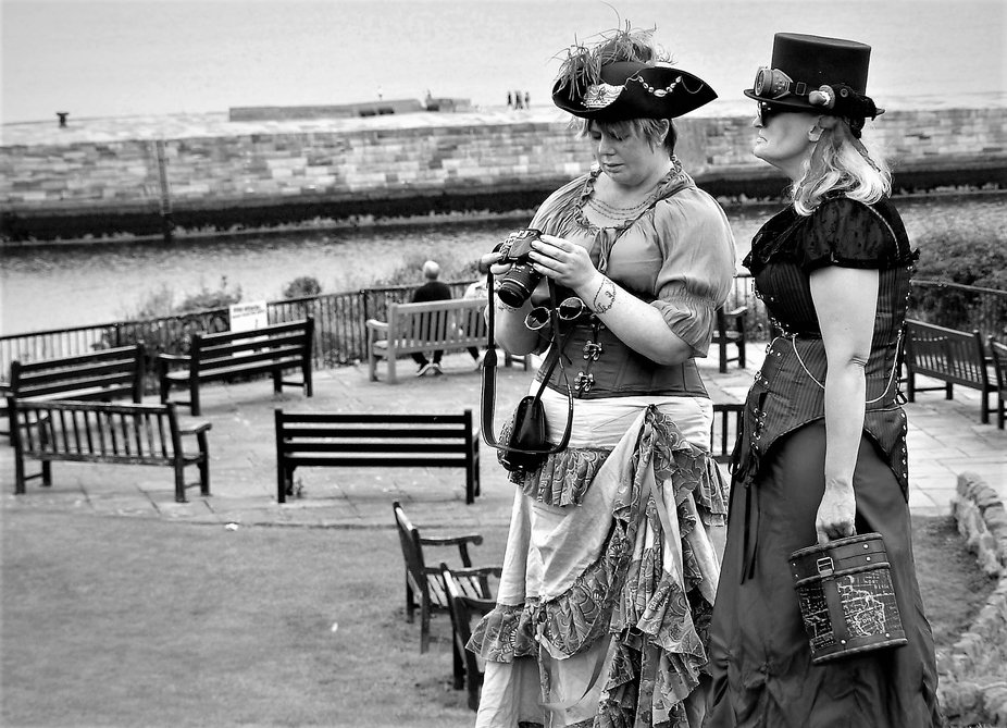 Whitby Steampunk event, Summer 2017.