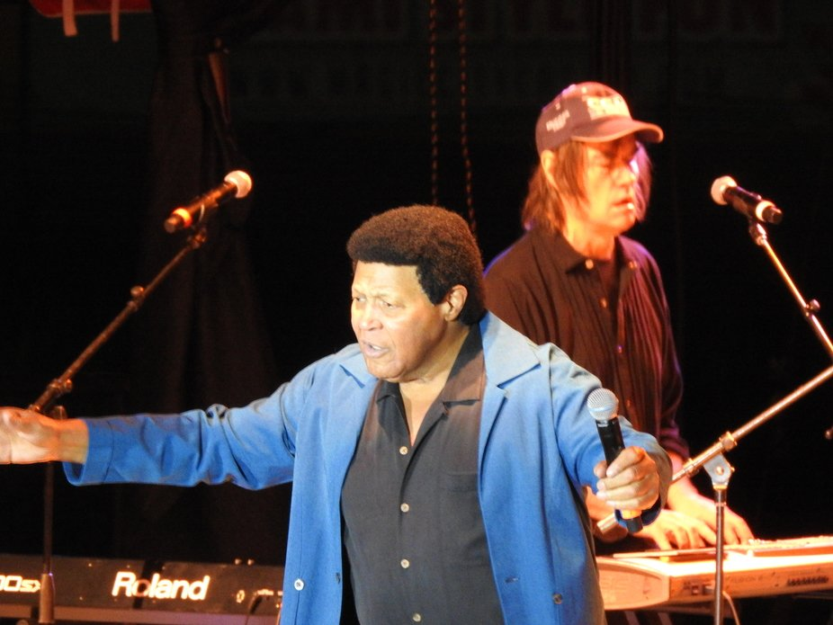 A concert with the famous Chubby Checker in Miami FL.  He had us dancing in the aisles, and singing along to his classic rock and roll.