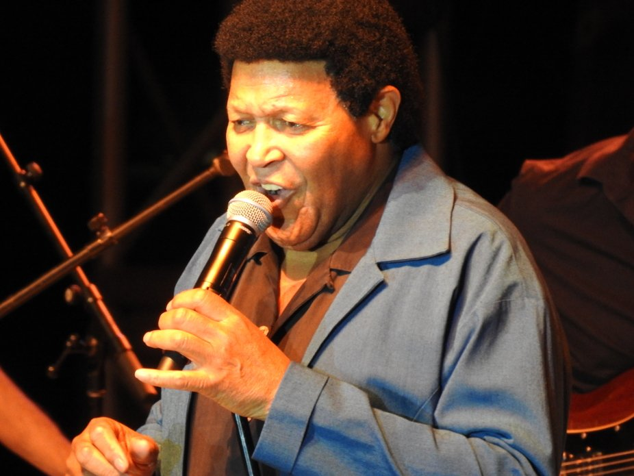 Concert with Chubby Checker in Miami, Florida.  Twist and shout!