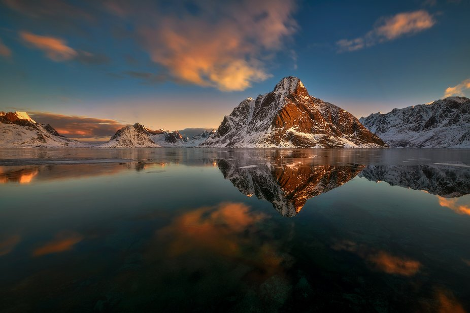 Dawn in Reine, Norway