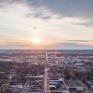 Lincoln, Nebraska Havelock Sunset