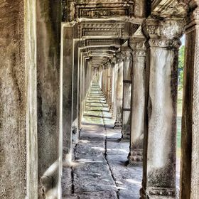 During out stay in Siem Reap, Cambodia, we visited Angkor Wat Temple.  It is considered on of the largest religous monuments in the world.  This ...