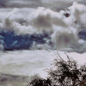 My Clouds have some interesting things going on in them...I would say its more than paradolia. What do you see?