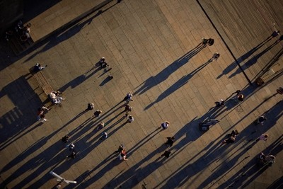 Shadows from above