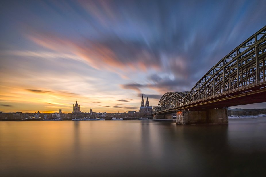 Long exposure, Cologne