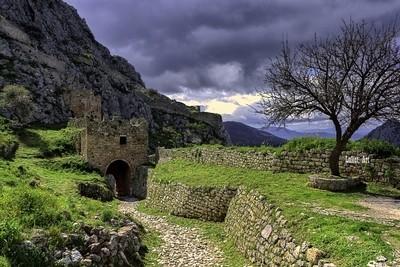Castle of Acient Korint.