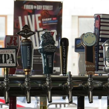 The Firkin offers a wide array of choices when it comes to beer on tap.