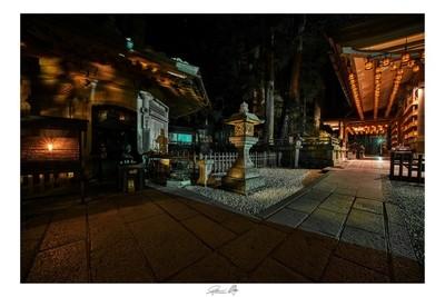 Notte sul Monte Koya