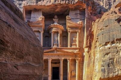 Treasury of Indianer Jones in Petra.