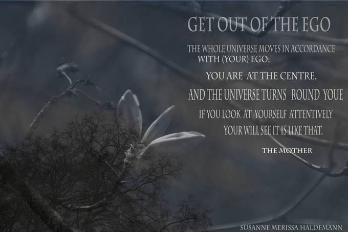Get out of the Ego...