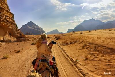 Camelride in the Desert.
