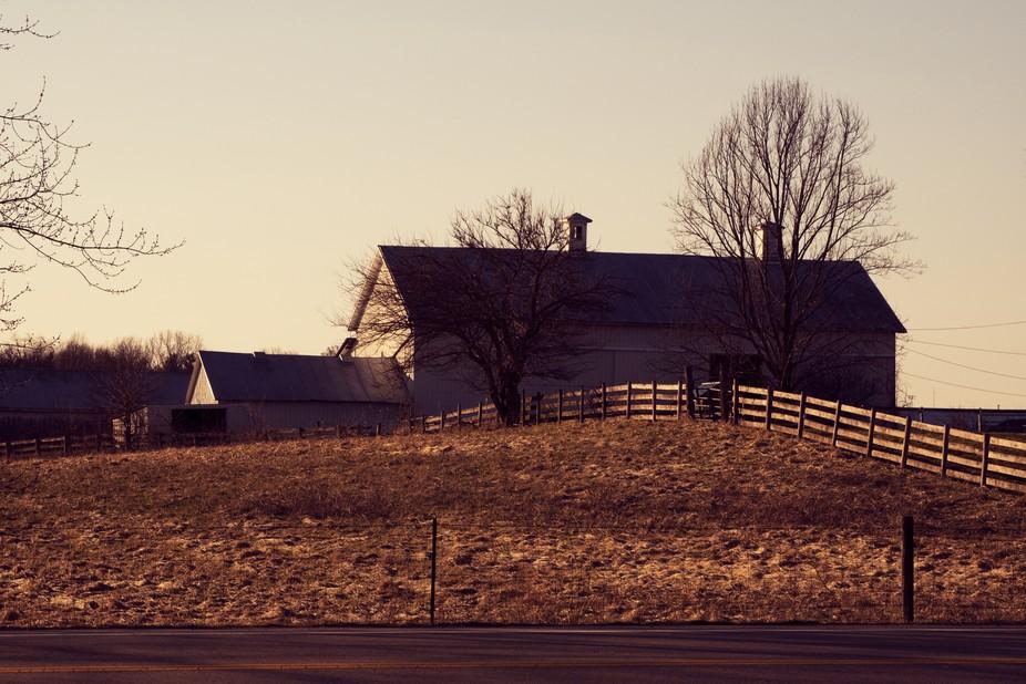Farm house taken in Yellow Springs, Ohio