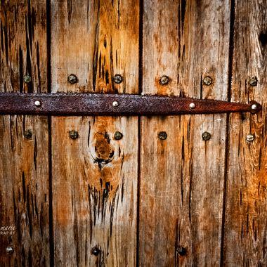 Antique Door to Cafe daVinci