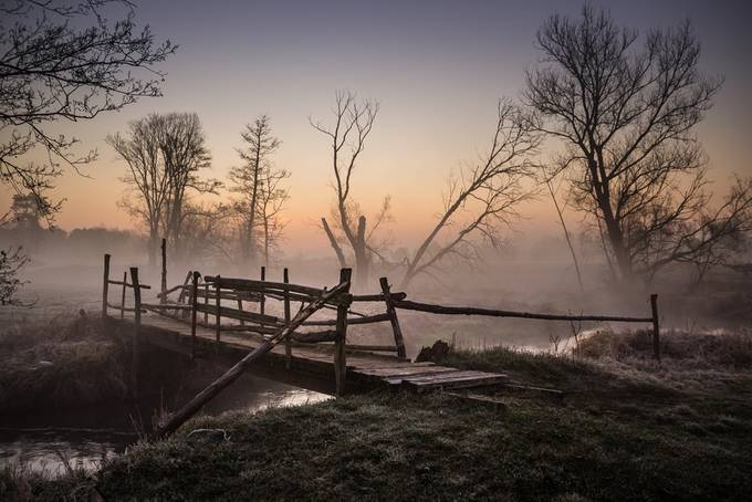 My favourite bridge over Jeziorka river by dorotakukurowska - Image Of The Month Photo Contest Vol 44
