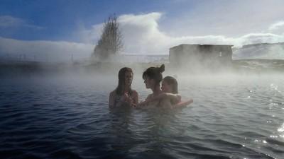 Secret Lagoon Geothermal Pool in Iceland