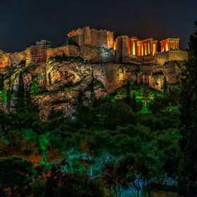 Akropolis by Night.