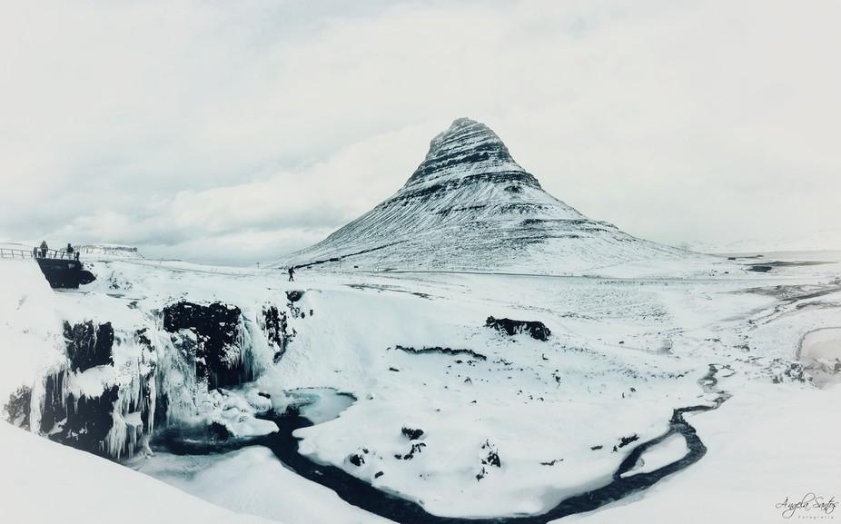 Kirkjufell and Kirkjufellfoss, Iceland