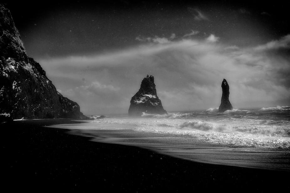 Reynisfjara Beach Iceland Trolls