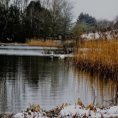 Late snow on my local Loch