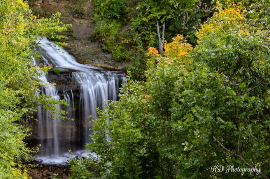 Hidden beneath the small town of Osceola WI is Cascade Falls. We found this beautiful place compl...
