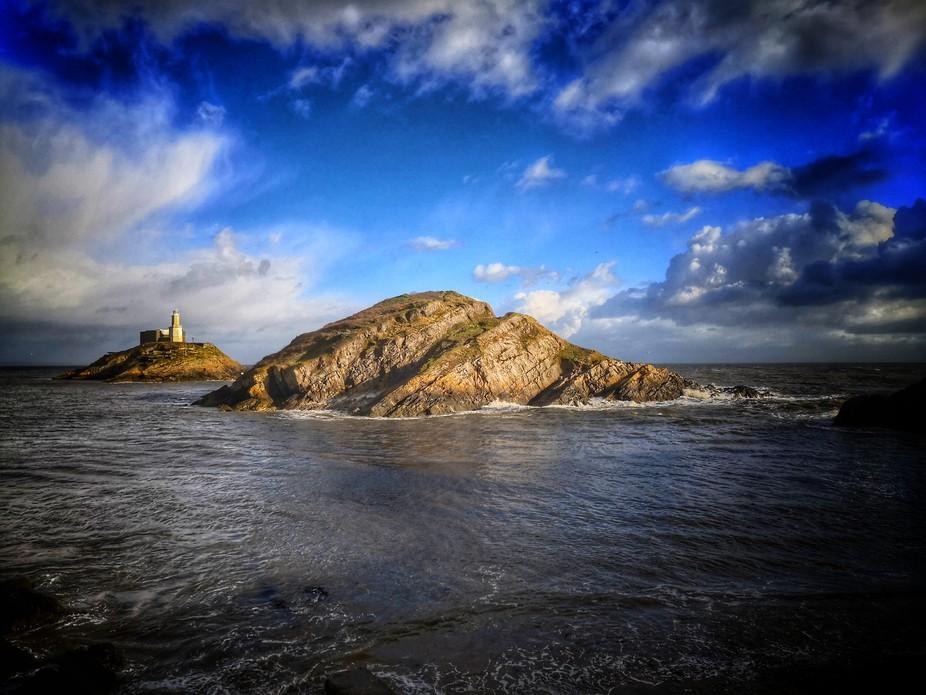 Mumbles lighthouse, Swansea