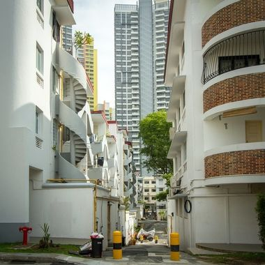 Several architecture styles in Singapore